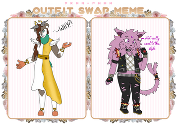 PKMN-PMMM | Outfit Swap: Vi + Isa