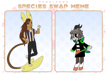 PKMN-PMMM | Species Swap: Vi + Sasha