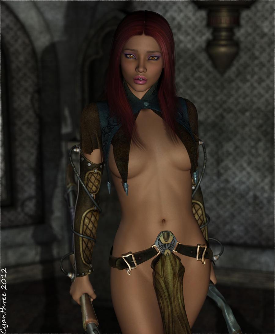 Priestess by cyanthree