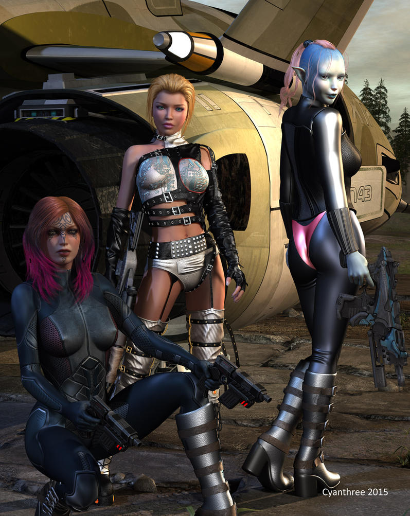 Meet the Team by cyanthree