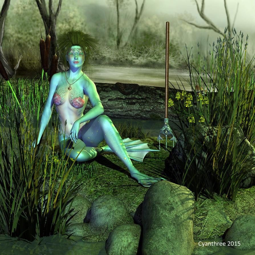 Swamp Elf by cyanthree