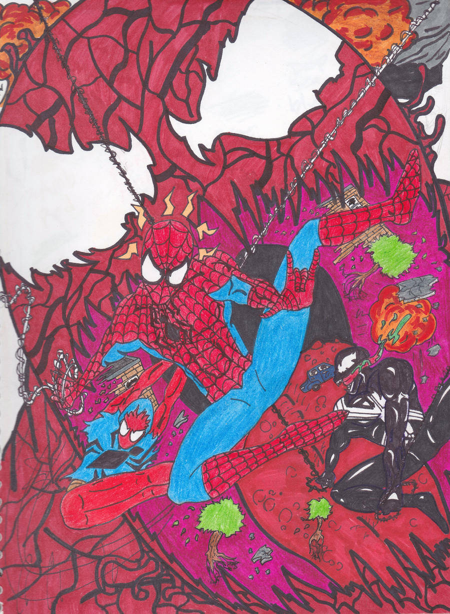 Planet of the symbiotes by algelis on deviantart
