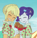 Caramel  apple girls