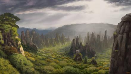 Eastern peaks