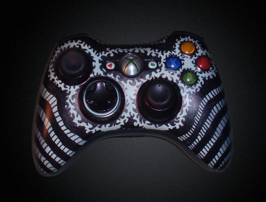 Sharpied Xbox Controller
