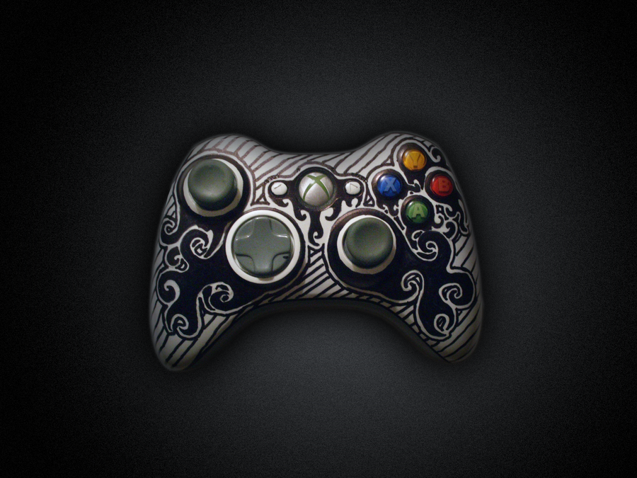 Tribal Xbox 360 Controller by Supertod on DeviantArt