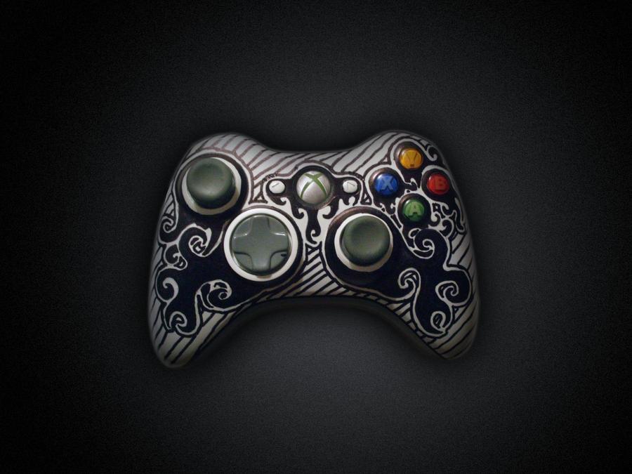 Tribal Xbox 360 Controller by SupertodXbox 360 Controller Designs