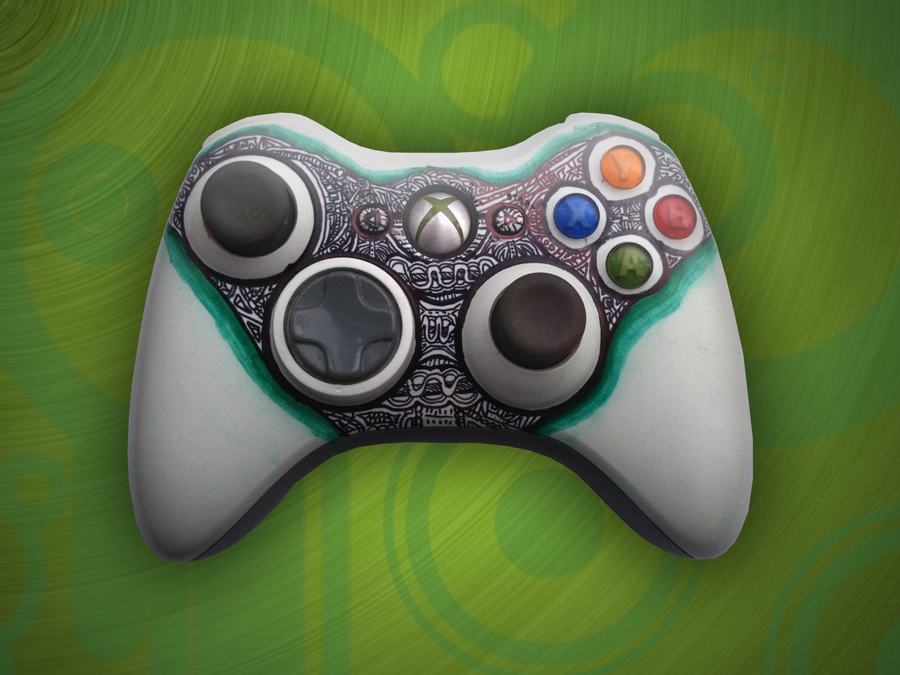 Custom Xbox Controller by Supertod on DeviantArt