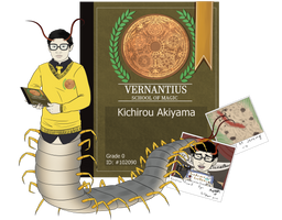VERNANTIUS APP || KICHIROU AKIYAMA by Bun-Of-A-Glitch