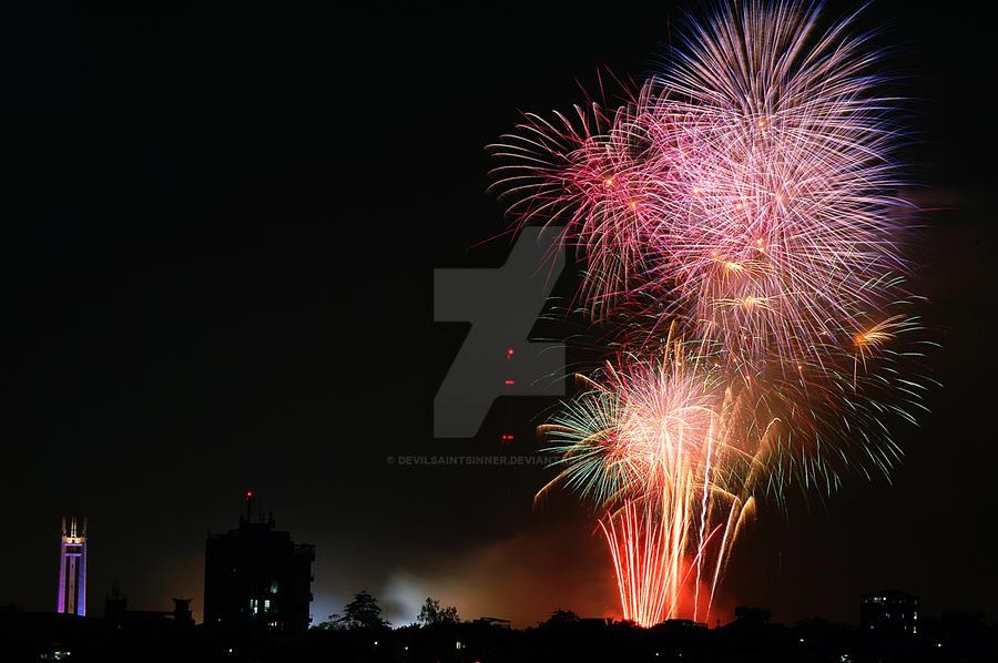 Inaugural Party Fireworks 1 by DeViLSaiNTSiNNeR