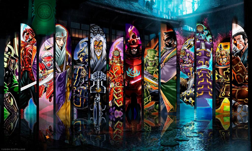 [Galeria] Devianart YGOcastellano Playmat___legendary_six_samurai_by_ygocastellano-d7sj88z