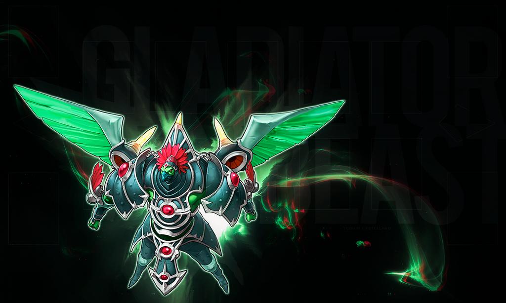 [Galeria] Devianart YGOcastellano Playmat___gladiator_beast_gyzarus_by_ygocastellano-d8gdk4k