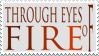 Through Eyes of Fire Stamp by Atlasavion