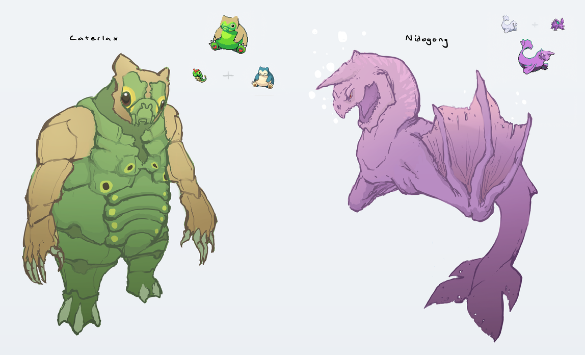 [Image: pokemon_fusion__caterlax_and_nidogong_by...6tjwfk.png]