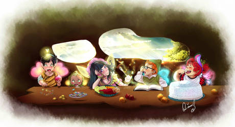 Fairie's Dinner Party
