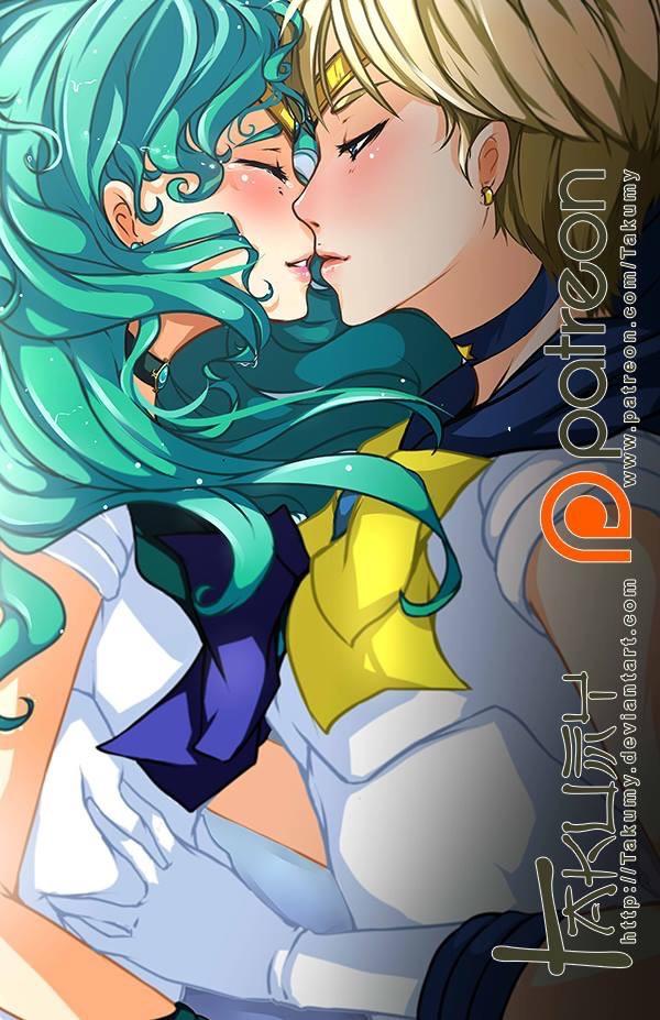 Neptune and Uranus' Love by Takumy