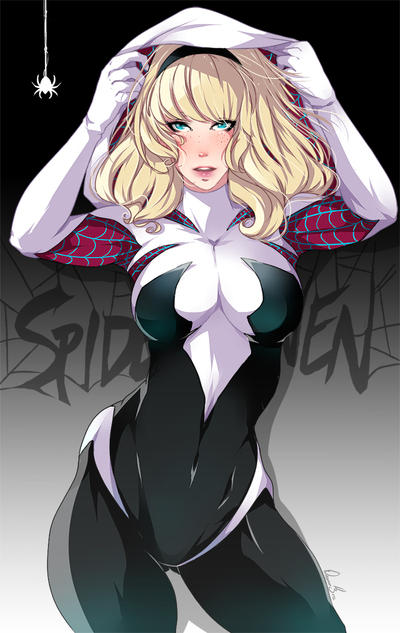 Spider Gwen by Takumy