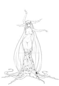Tree Nymph Commission lines