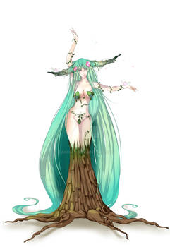 Tree Nymph Commission