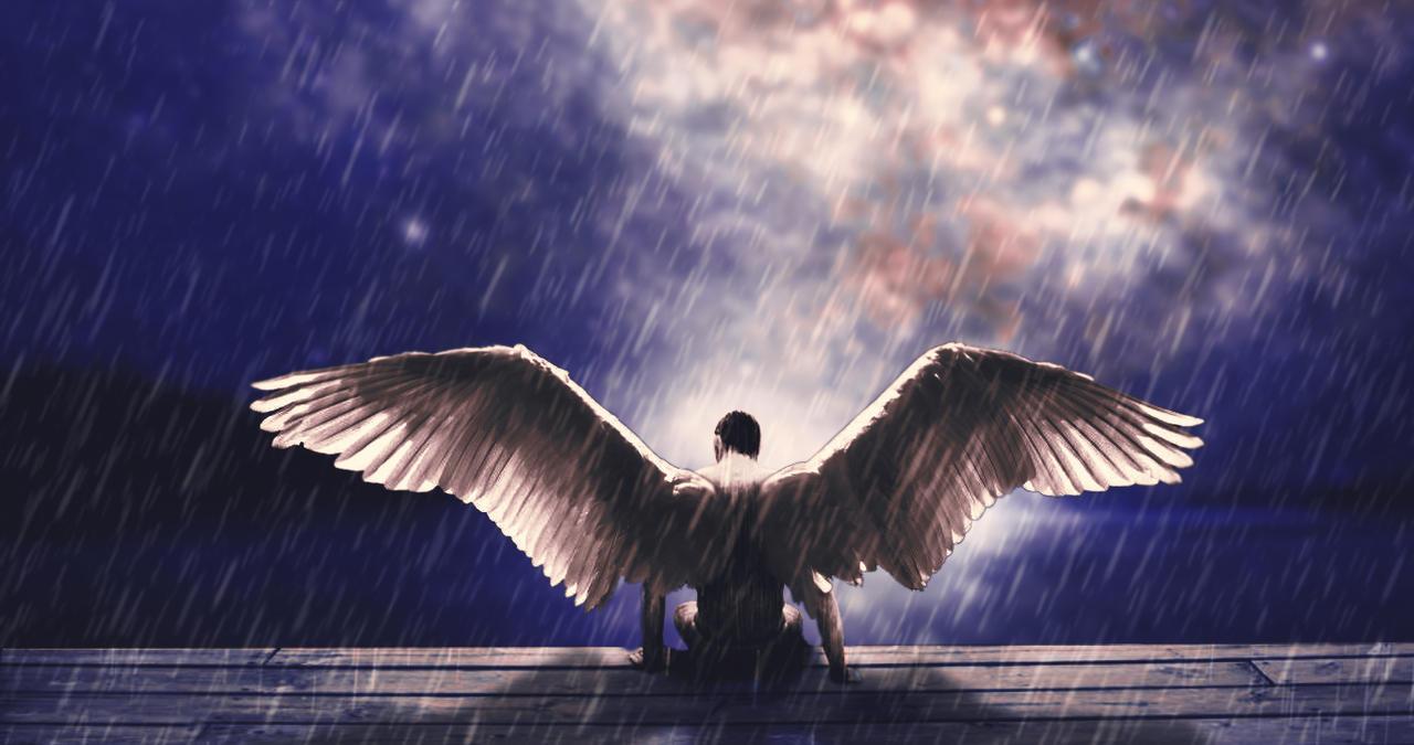 Fantasy Angel Man By Biersack 1 On Deviantart