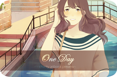 One Day charity artbook preview by jauni