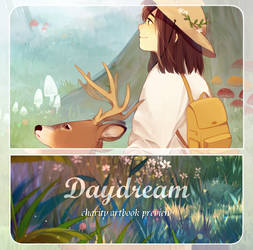 DayDream charity artbook preview
