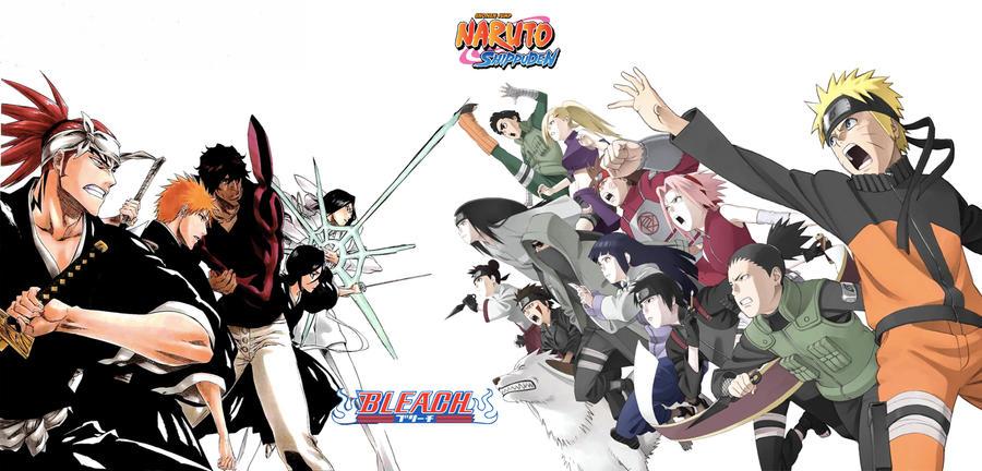 Naruto Vs. Bleach By Getsuga-rasengan On DeviantArt