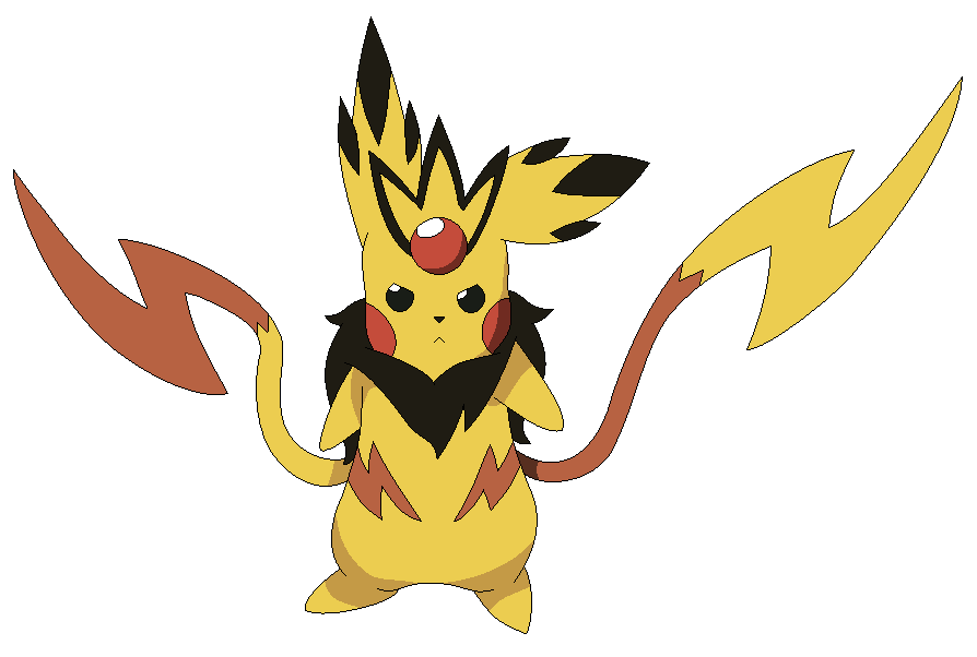 Pikachu mega evolutions