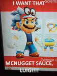 Mario Wants That McNugget Sauce