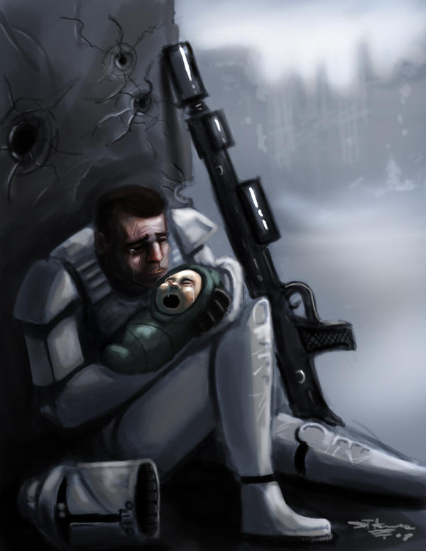Clone Troopers Have Feelings by devowankenobi