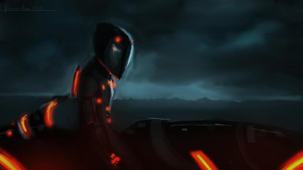 Tron Legacy Rinzler By Devowankenobi