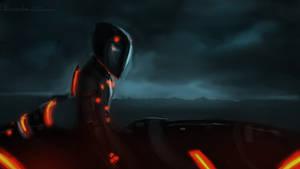 Tron Legacy : Rinzler by devowankenobi