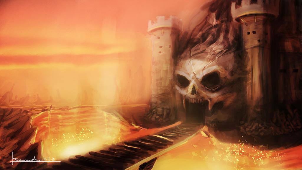 Castle Grayskull by devowankenobi