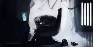 Vader's Lament by devowankenobi