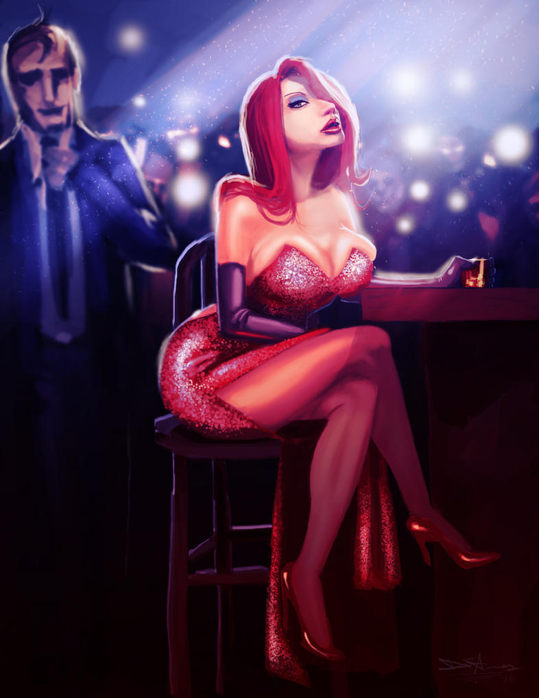 Jessica Rabbit by devowankenobi