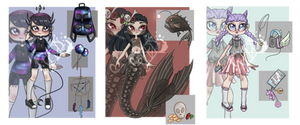 Aestetic adopts [Closed] by Nephele-Draws