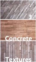 3 Free Concrete Textures
