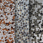 3 Free stone tiles and pebble textures