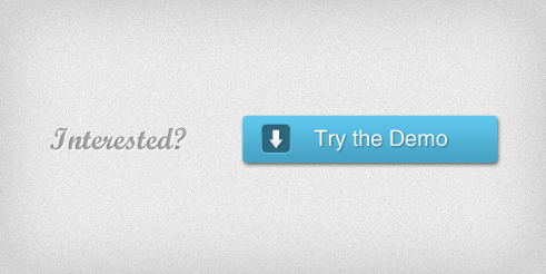 Free Layered PSD of a little demo button by kropped