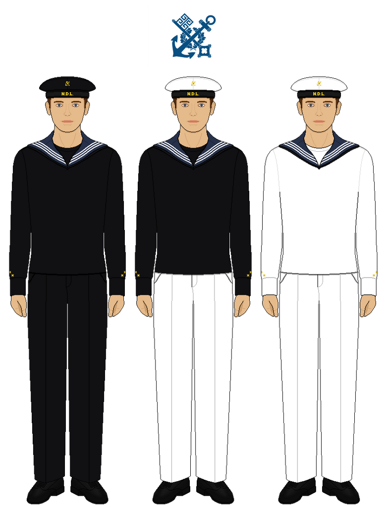 NDL Sailor Uniforms by tsd715