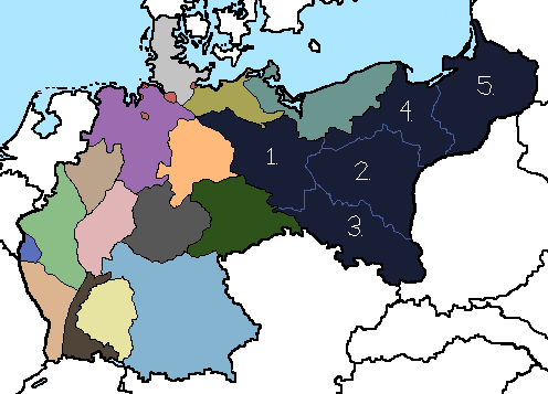 States of the German Empire in 2017 by tsd715