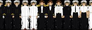 Saxon Royal Navy Dress Regulations by tsd715