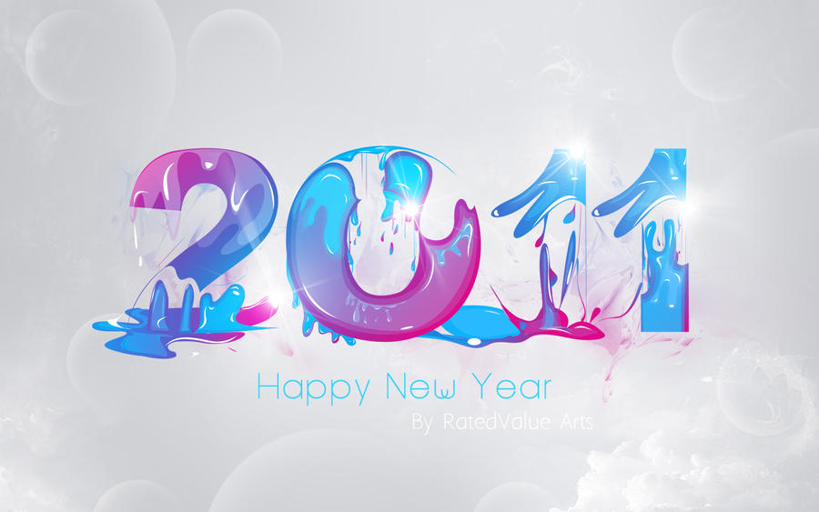 Happy New Year 2011 Wallpaper