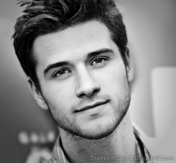 Josh Hutcherson / Liam Hemsworth by ThatNordicGuy