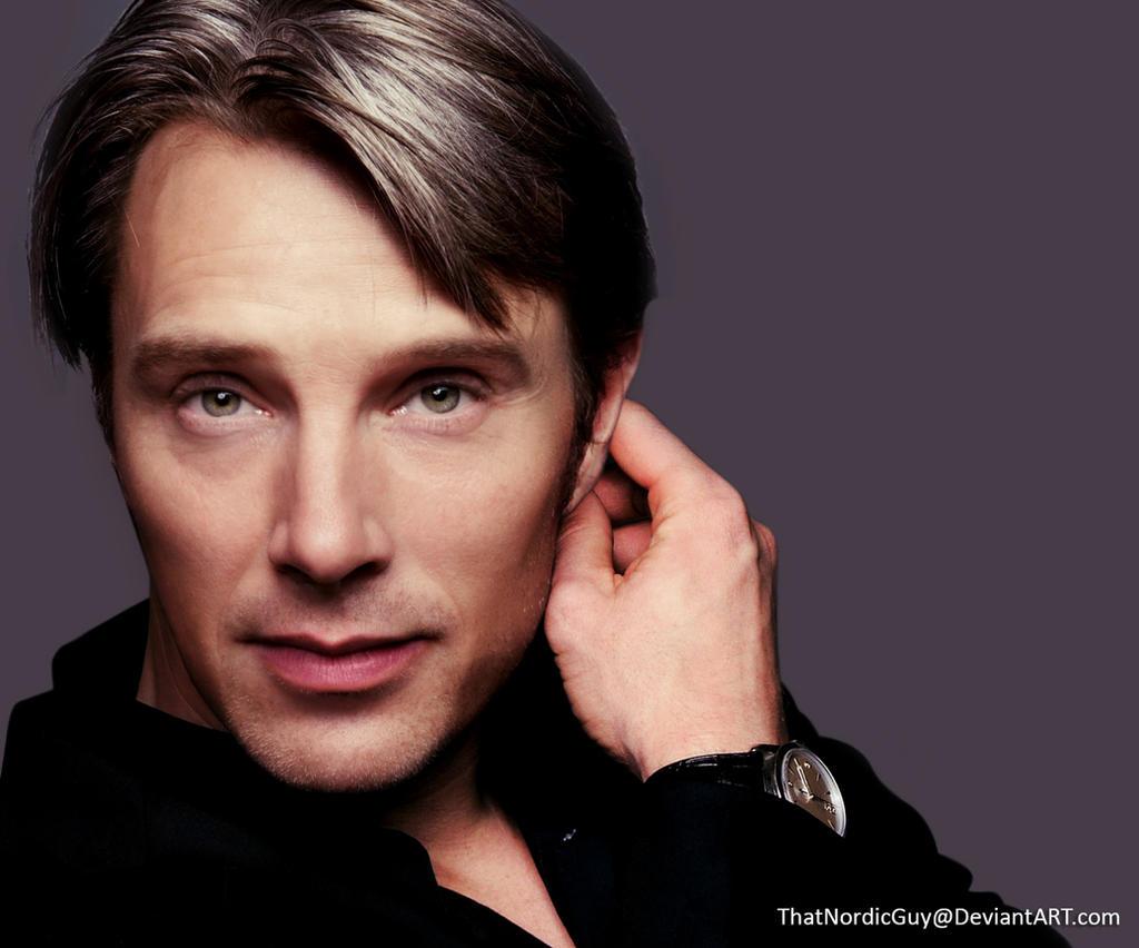 Benedict Cumberbatch / Mads Mikkelsen by ThatNordicGuy
