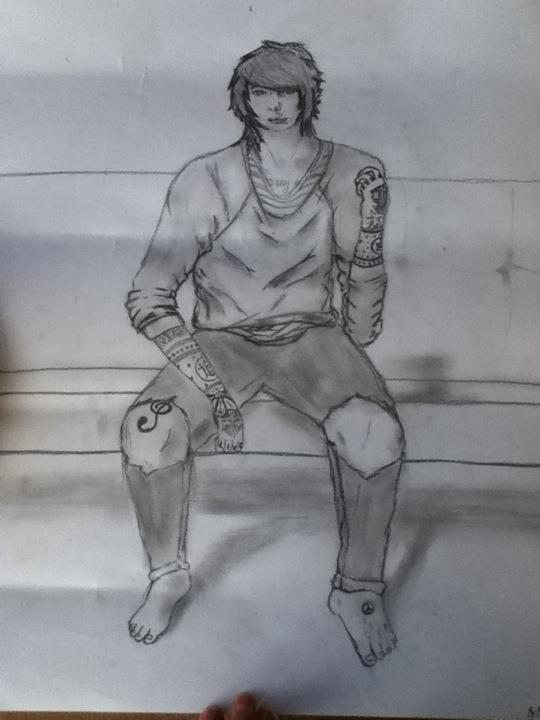 chris drew by SilentStyleArtist15 on deviantART