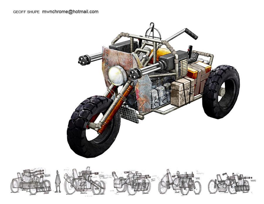 sci-fi vehicle 3 by ironlotus