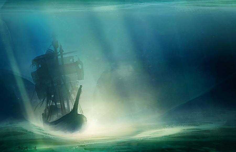 Flying Dutchman Spitpaint by ironlotus