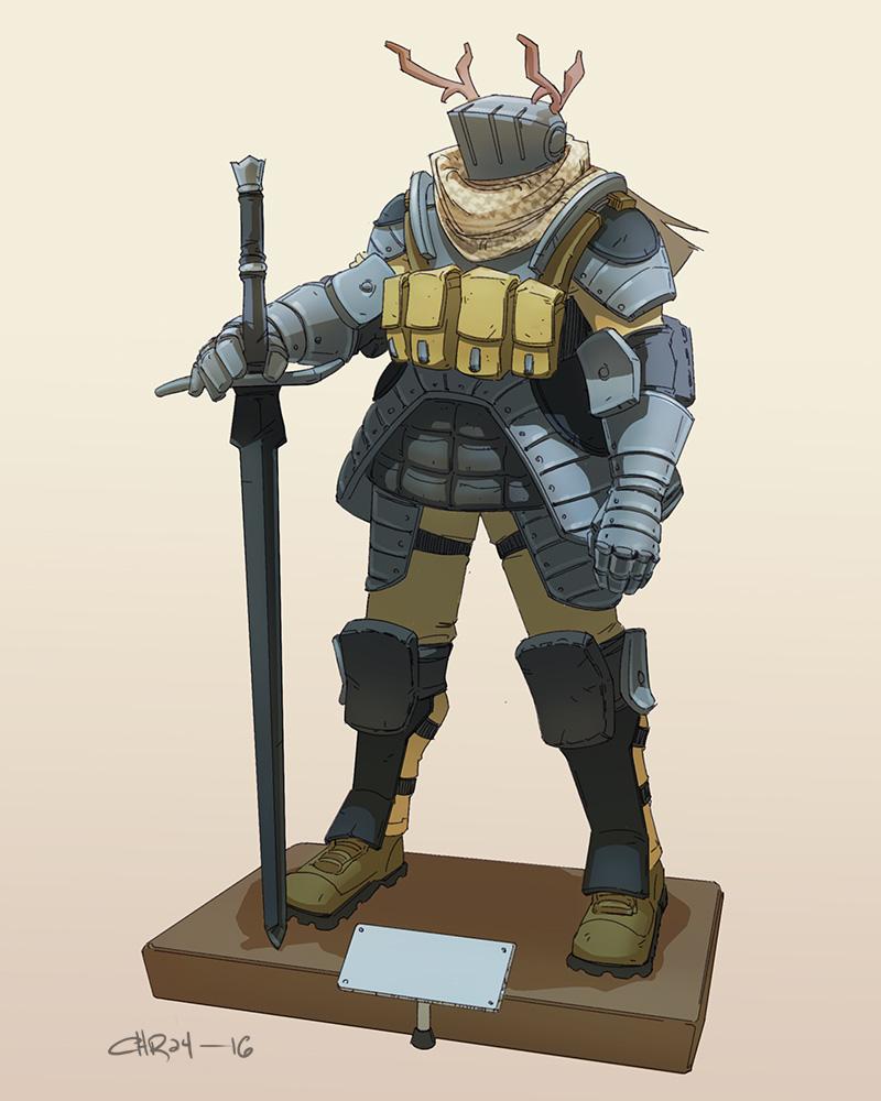 Swat Knight by ironlotus