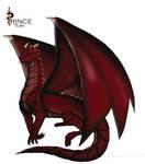 Ruby Dragon by PrinceTumi